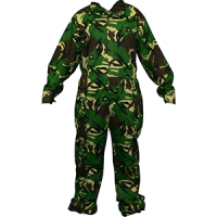 heavy duty overall camo