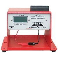 radar paintball chrono station